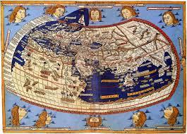 Europeisk världskarta från 1482